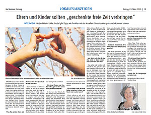 Interview Familientipps in Corona Zeit